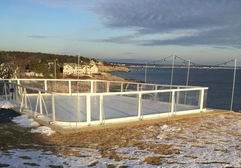 Sperry Tents Seacoast and Cliff House Of Maine Design Skating Rink