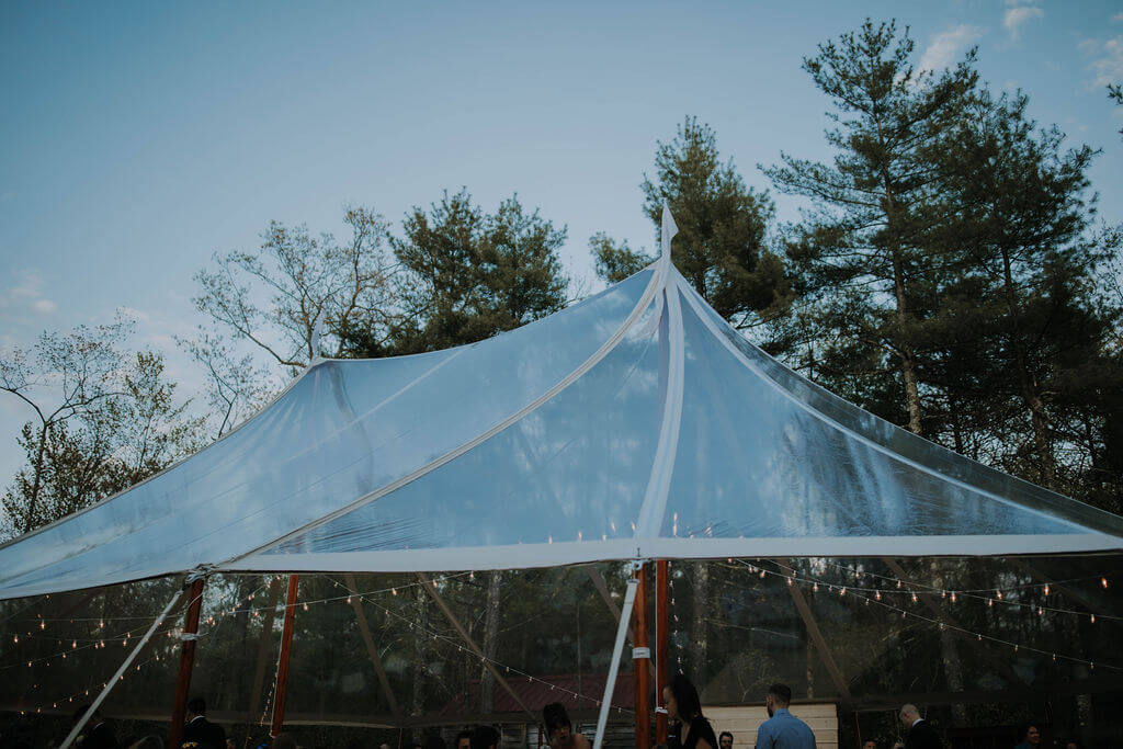 You'll Clearly See Why We Love Clear Top Tents!