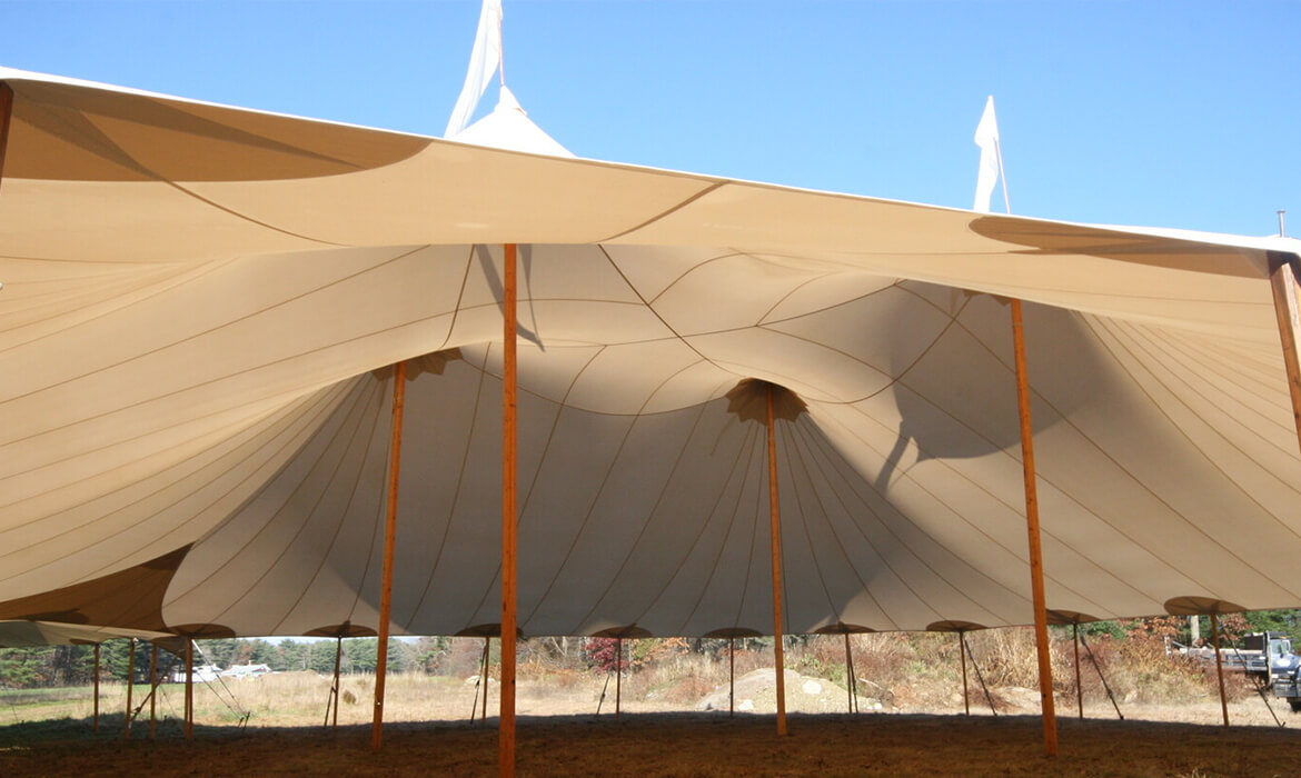 Sailcloth Wedding Tent Rental Gallery 4