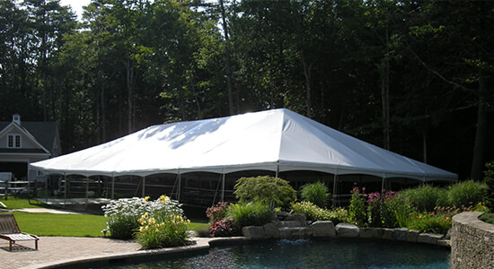 Traditional Wedding Tent Rental