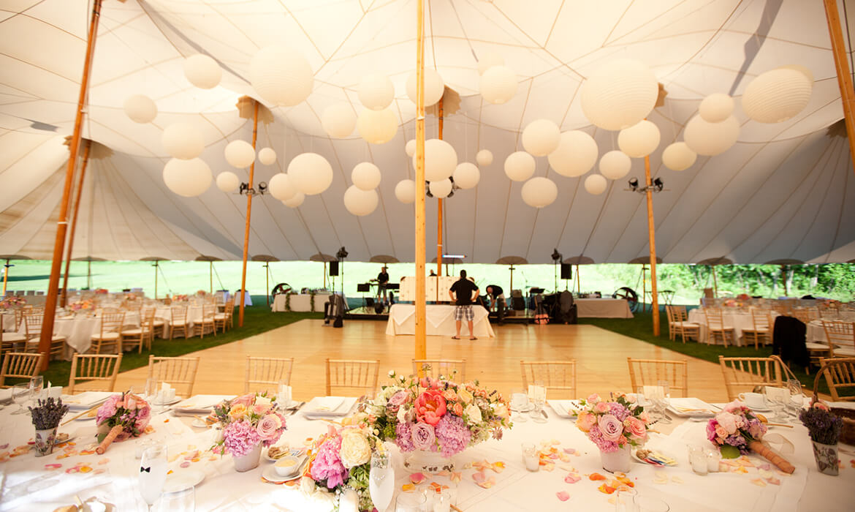 Asian Lanterns beautiful decor at Wedding