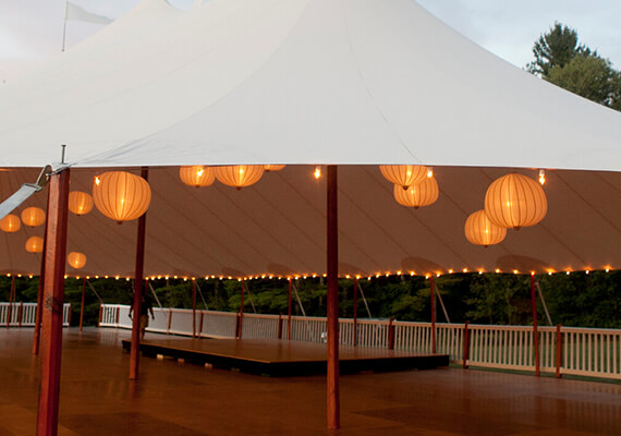 Bandstands & Staging for Wedding