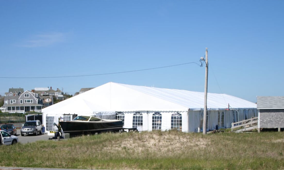 Very Large Traditional Frame Tent For Event