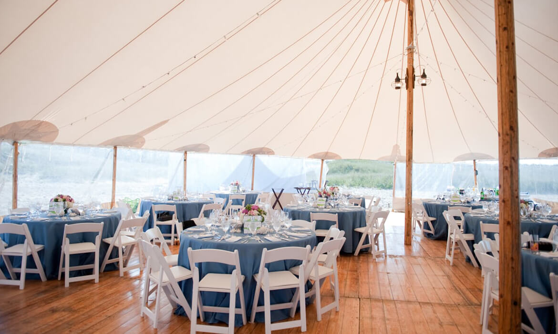 White wedding chair rentals