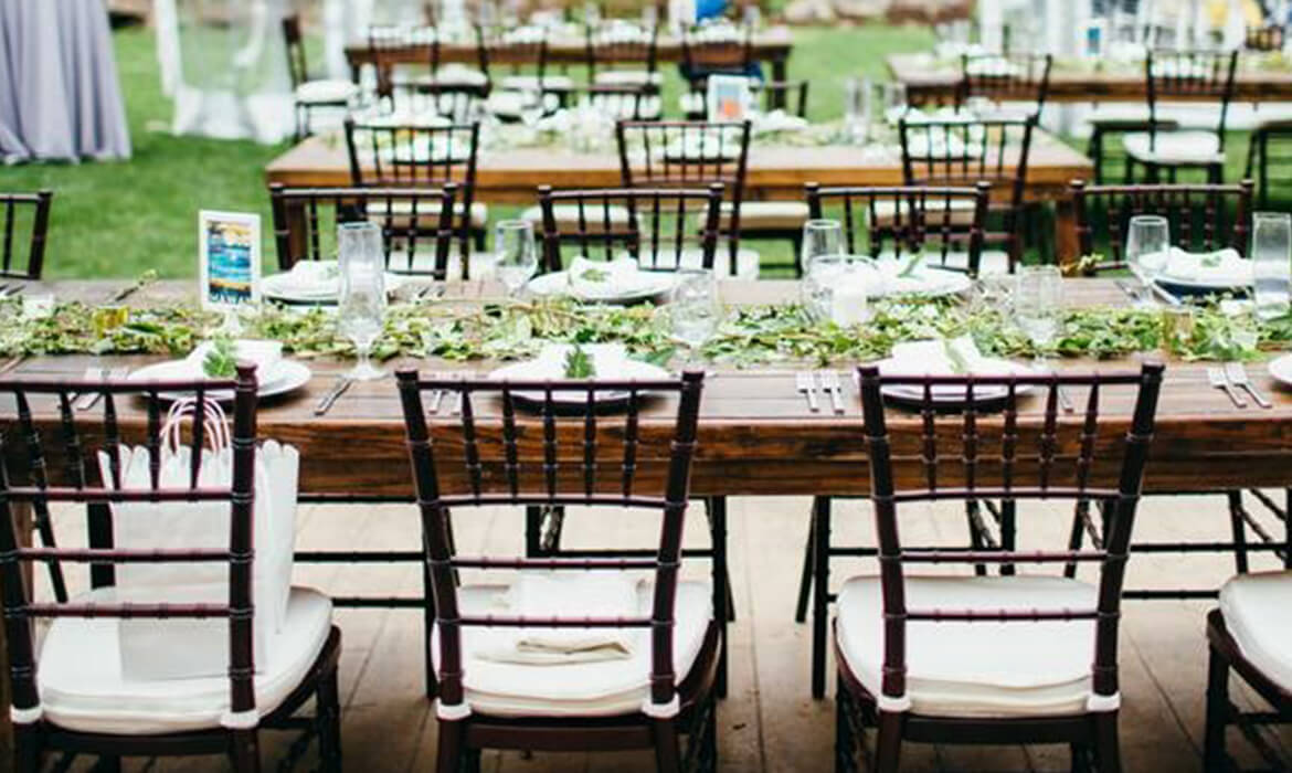 Wedding Farm Tables for Rent