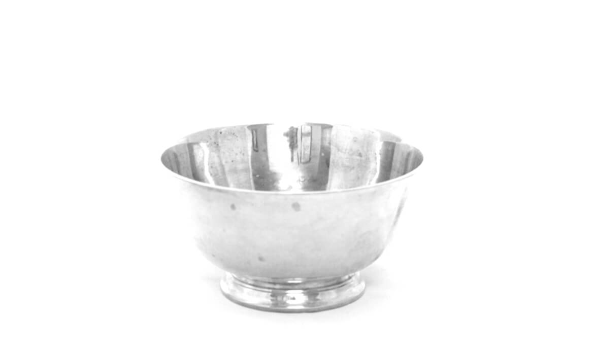 6in Silver Bowl