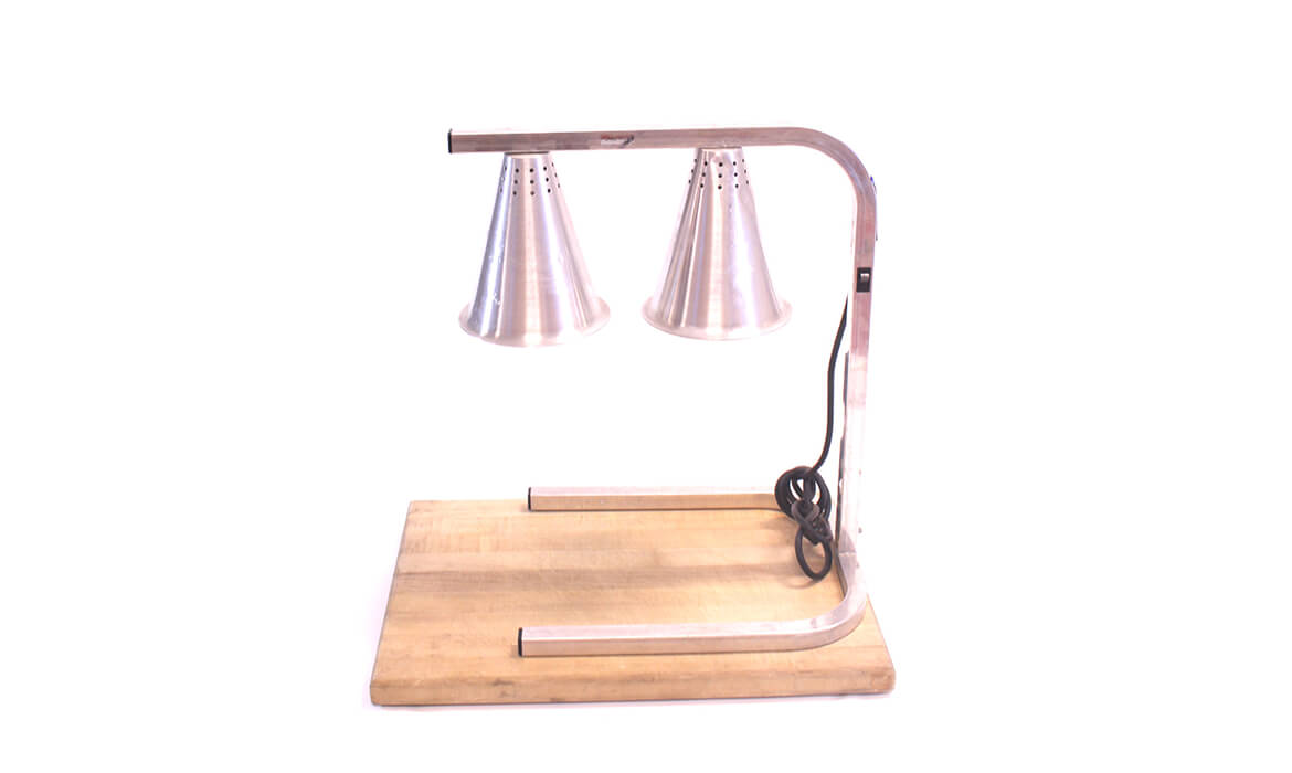 Carving Station w/ Heat Lamp