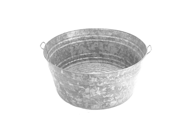 Galvanized Tub