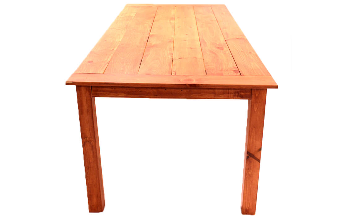 Light Wood Farm Table
