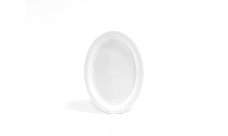 White Oval Platter 21
