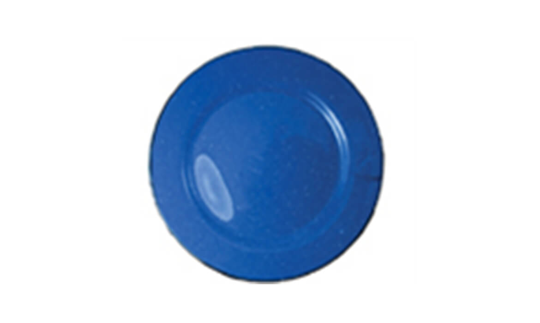Blue Enamel 10in Plate