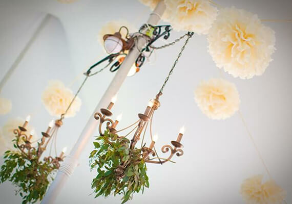 Chandelier for Wedding Rentals