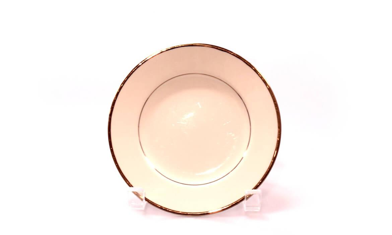 Gold Rim 6in Plate