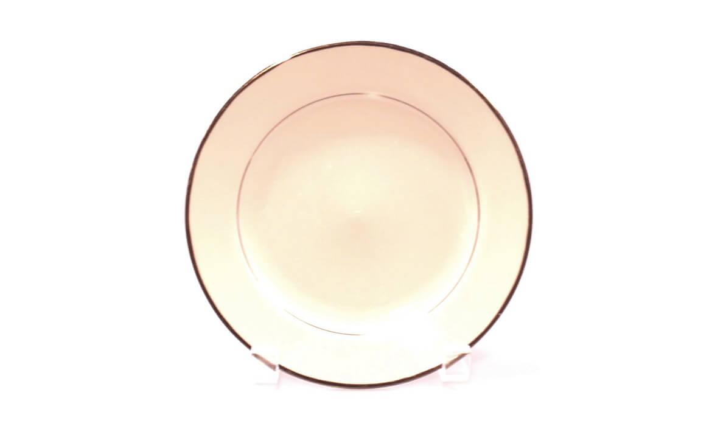 Gold Rim 7in Plate
