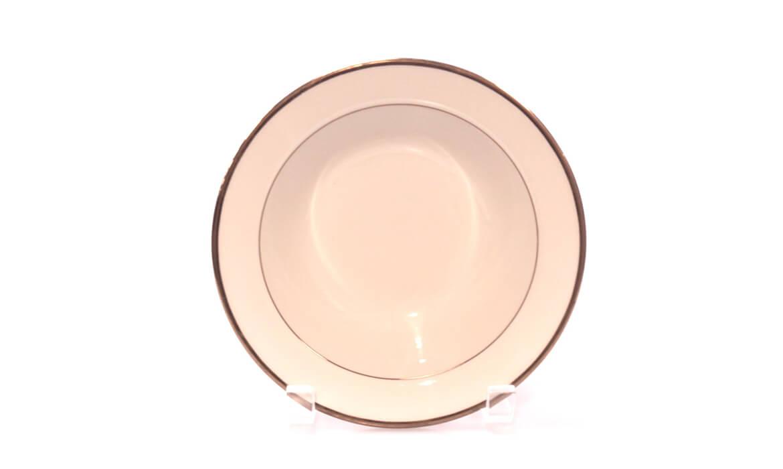 Gold Rim 7in 8oz Bowl