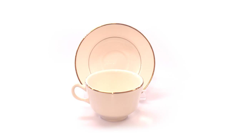 Gold Rim Cup Saucer