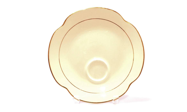 Gold Rim Tea Toast