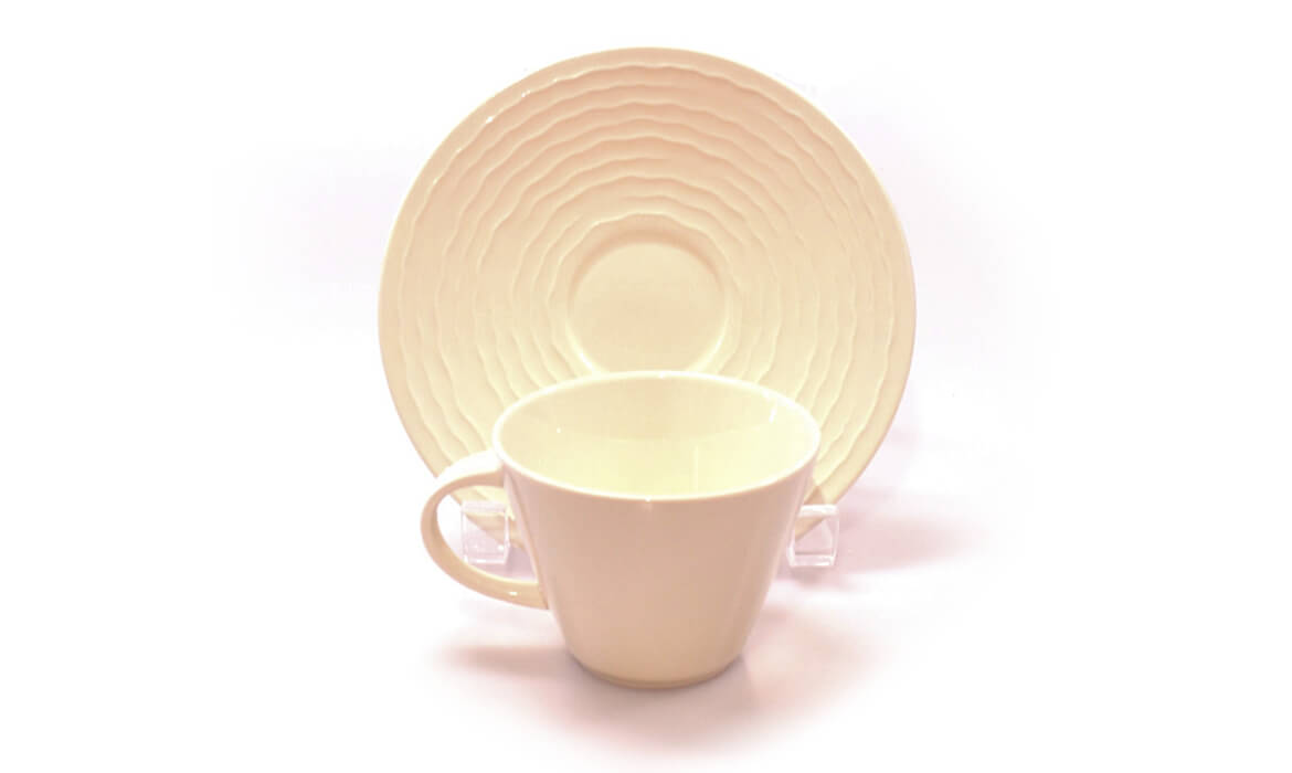 Ivory Cup & Saucer
