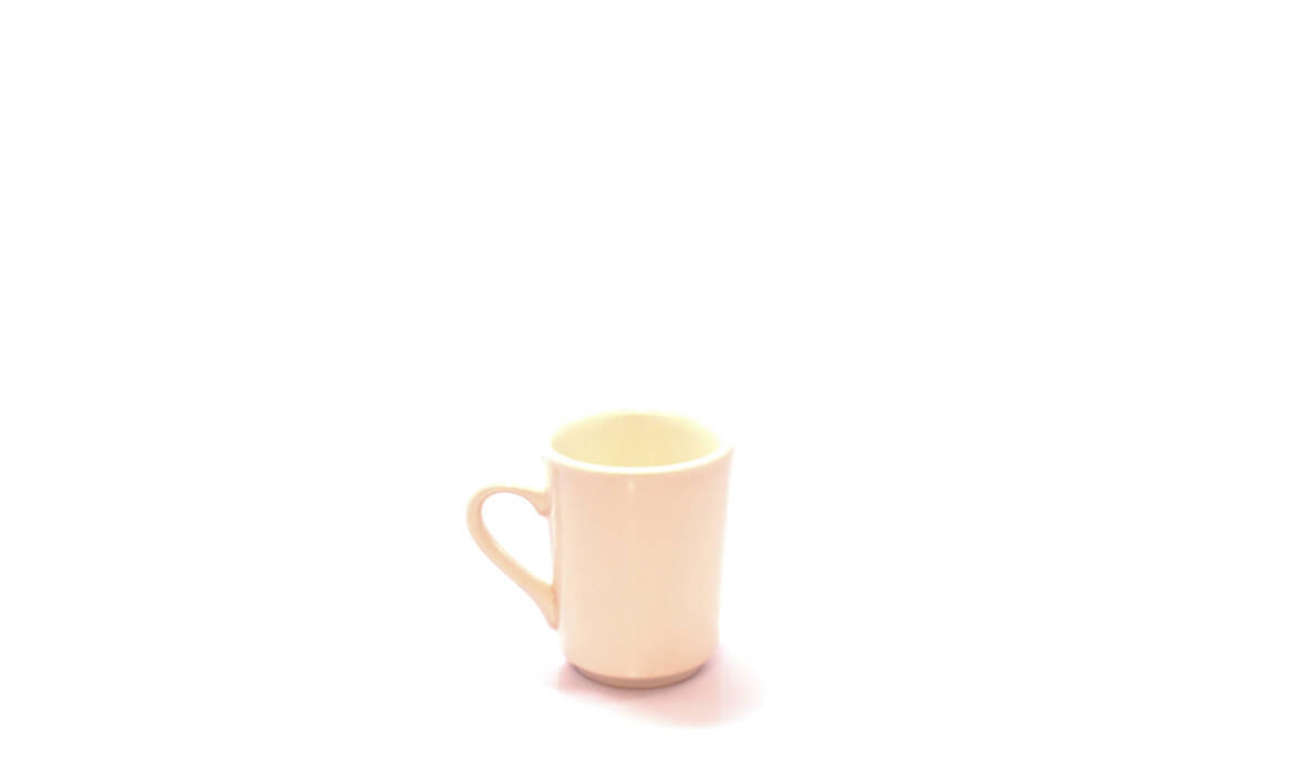 Off White Coffee Cup