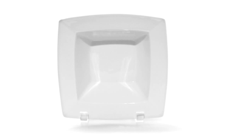 White Square Bowl