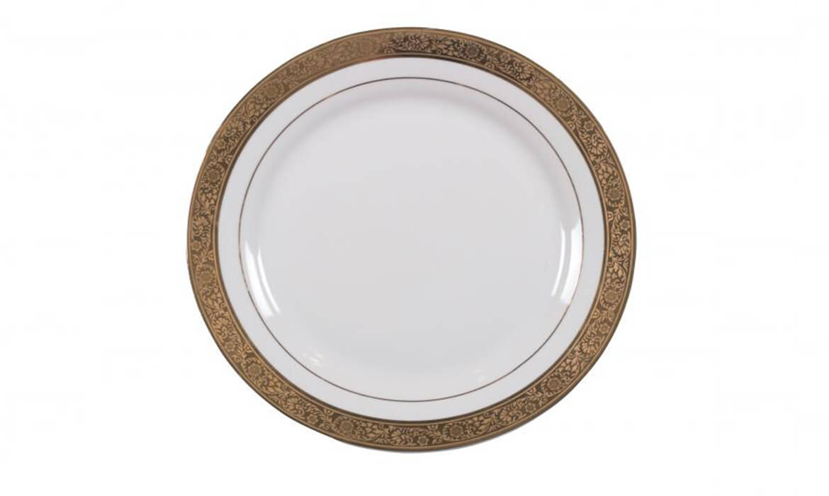 Majestic Gold Plate 8in