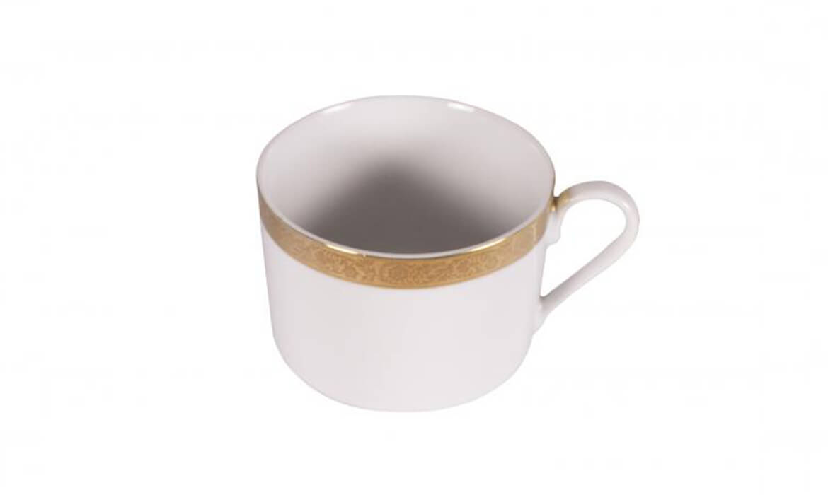 Majestic Gold  Coffee Cup