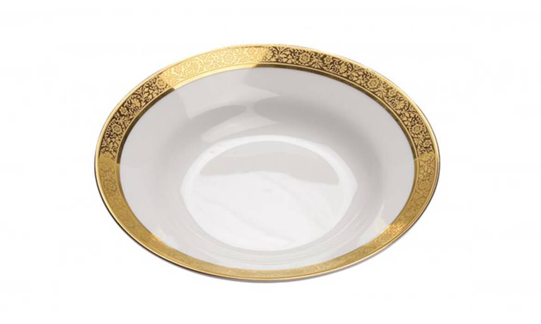 Majestic Gold Soup Bowl