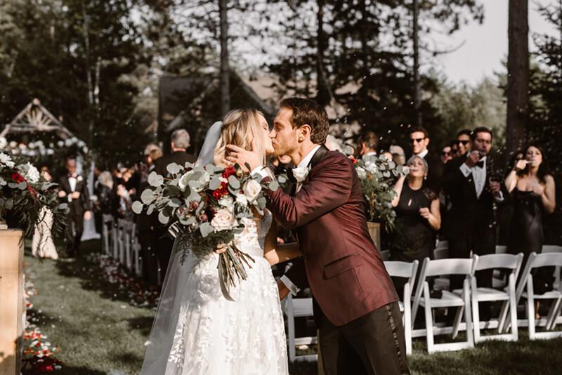 Formal Kennebunkport Wedding at Hidden Pond