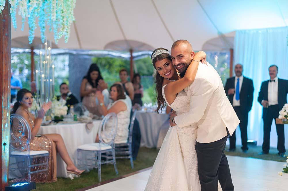A Backyard turned into a Late Summer Fairytale Wedding